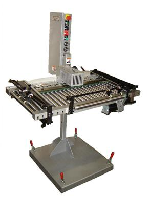 Kirk-Rudy 730 Roller Registration Conveyor